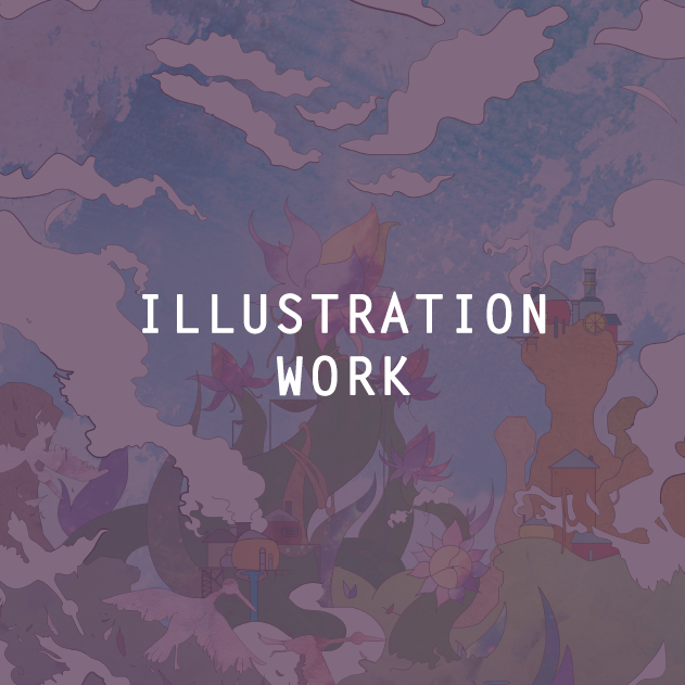 Illustration Portfolio Hover