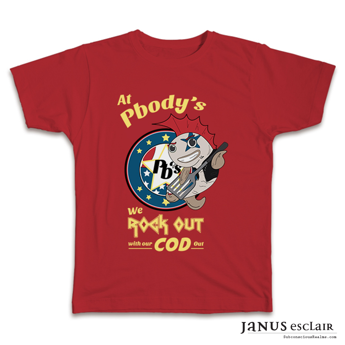 Pbody's - T-Shirt Designs