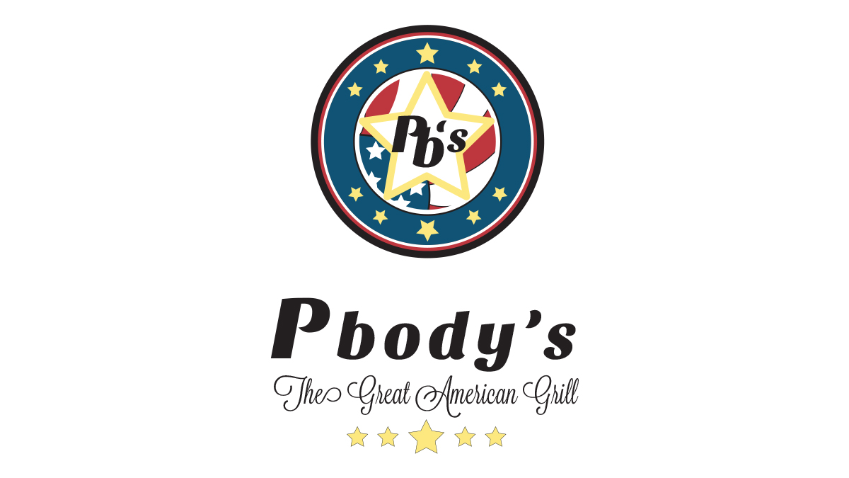 Pbody's - The Great American Grill - Logo