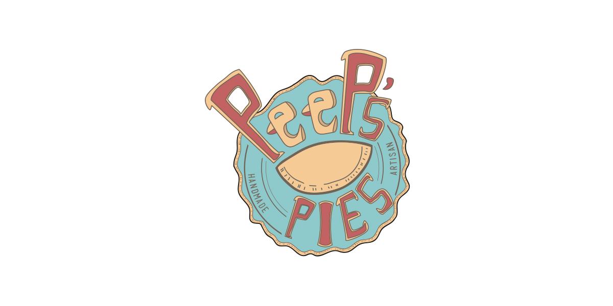 Peep's Pies - Logo