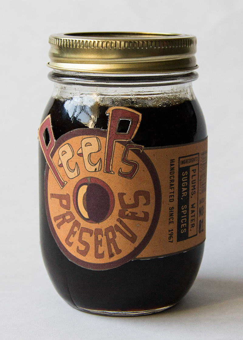 Peep's Pies and PresPeep's Pies and Preserves - Plum Preserves