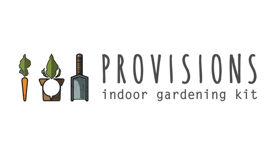 Provisions - Indoor Gardening Kit - Logo