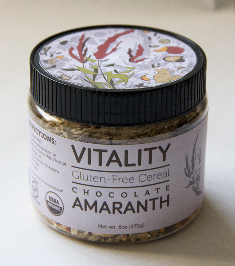 Vitality Cereal - Chocolate Amaranth