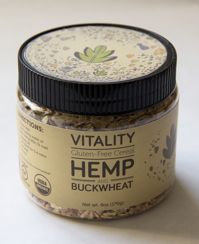 Vitality Cereal - Hemp and Buckwheat