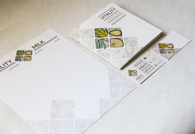 Vitality Milk - Stationery