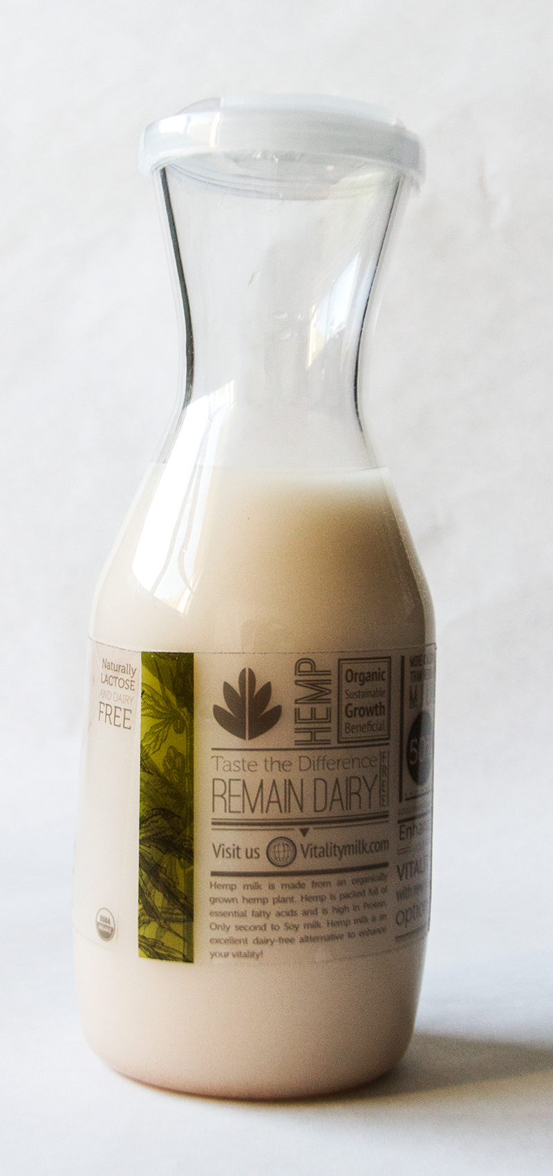 Vitality Milk - Hemp Milk