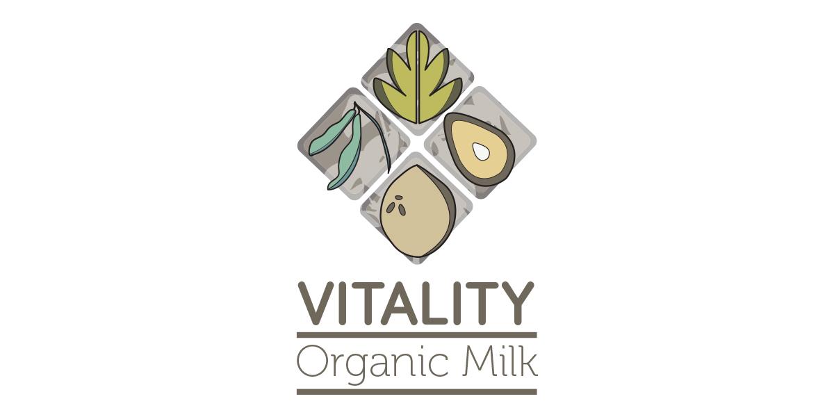 Vitality Milk - Logo