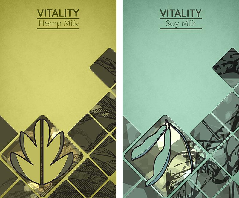 Vitality Milk - Posters