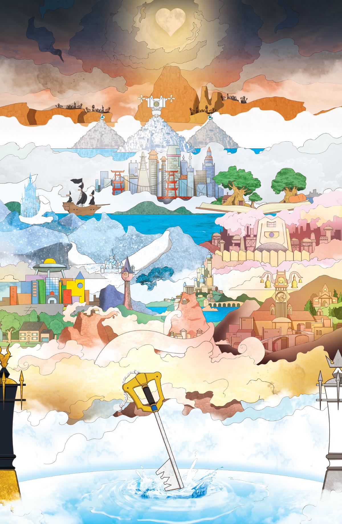 World of Kingdom Hearts 3