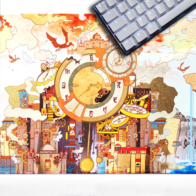 Clockwork City Playmat